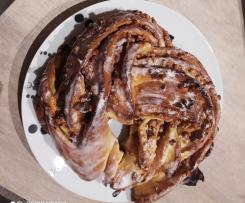 Kringle con prealine de almendras