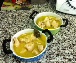 Pollo ajo y limon