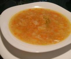 Sopa de Verduras con tropezones