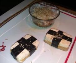 Sandwiches de tofu (macrobiótica)
