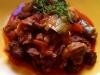 Estofado de ternera con alcachofas y zanahorias