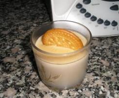 Crema de galletas y caramelo