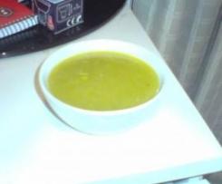 Sopa ligera de calabacines