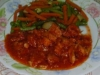Estofado de cerdo  pollo y chorizo parrillero con tomate