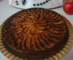Tarta-bizcocho de manzana de mi madre (mejorada)