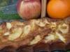 Bocado de manzana para dos
