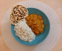Pollo al curry estilo Tikka Masala