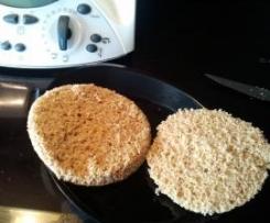 Torta o Pan de Avena en Microondas (Dieta Dukan, Apto desde ataque)