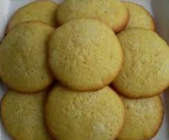 Galletas de limón o naranja
