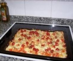 Clon de masa pizza a la italiana