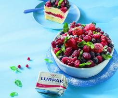 Tarta bol de frutos rojos con mantequilla Lurpak ®