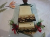 TURRON TRES CHOCOLATES Y TRES FRUTOS SECOS