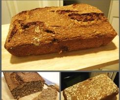 Pan sano de cereales y semillas