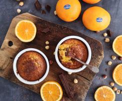 Bizcocho de naranjas Fontestad ® y avellanas con chocolate