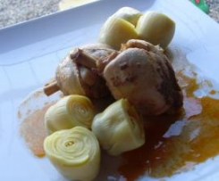 Pollo al pimentón