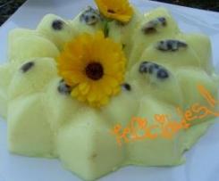 Picos de limón, yogur y leche condensada