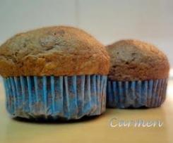 Cupcakes a los dos chocolates s/g