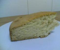 Bizcocho de miel sin huevo ni lactosa