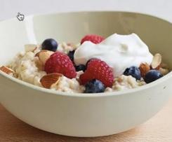 Oatmeal - American, Creamy