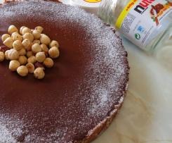 Tarta de Queso con Nutella (Sin Horno)