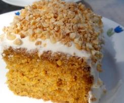 Carrot Cake (Pastel de zanahoria)