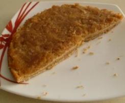 Tarta de manzana y almendras (sin gluten y sin lactosa)
