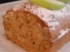 Plum-cake de manzana con cerveza