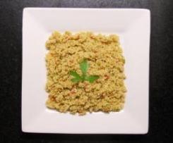 Ensalada fresca de cuscús (receta griega)