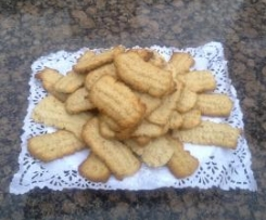 Galletas rizadas (de chicharrones)