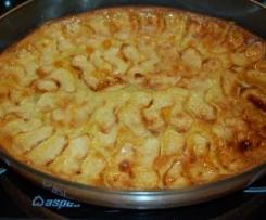 Tarta de manzana ligera y rapida