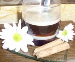 Café bombón a la canela