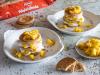 Milhojas con galletas Hojaldrada Cuétara al limón