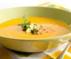 Sopa fría de mango