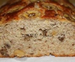 Bizcocho de Platano y Nueces (o Muffins)