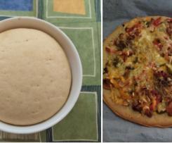 masa de pizza con harina espelta y tritordeum ecológica