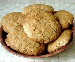 cookies (galletas inglesas) sin gluten