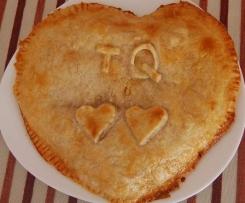 Receta para dos: Empanada con corazón