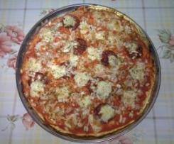 "Pizza ""fin de semana"""