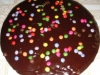 Queque de Junior YOGOMIX con cobertura de chocolate