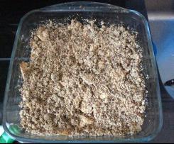 Crumble de manzana (sin azúcar)