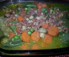 menestra de verduras con jamon