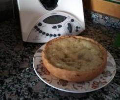 Pastel de manzana aleman