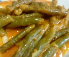 Habichuelas en salsa