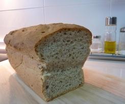 PAN DE MOLDE mezcla de centeno y trigo