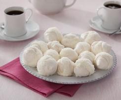 Merengues con nata y coco