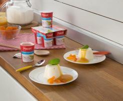 Panna cotta de yogur con Pascual®