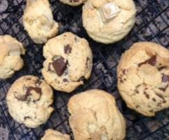 Cookies de chocolate tipo Wendy
