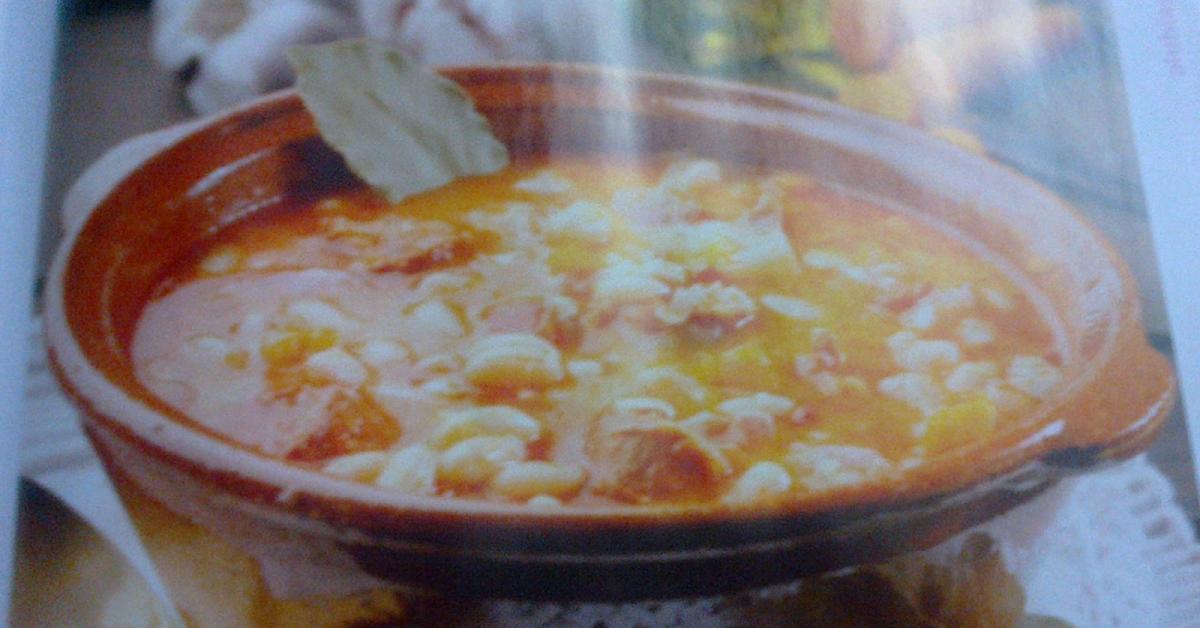 Jud as blancas con chorizo por rosacaxis la receta de - Judias con chorizo y patatas ...