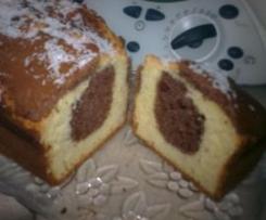CAKE DE COCO Y CHOCOLATE
