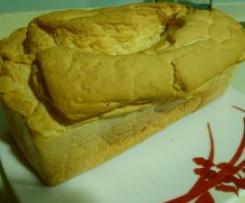 Pan de molde (sin glutem y sin lactosa)